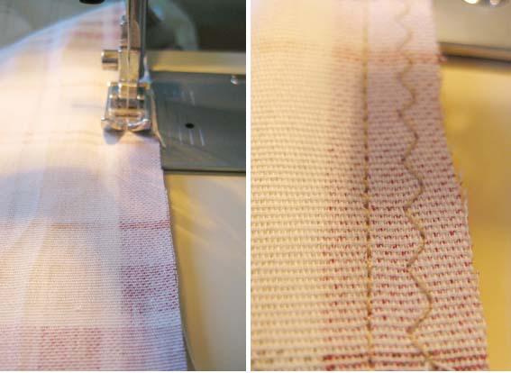 sewing machinge - zig zag stitch