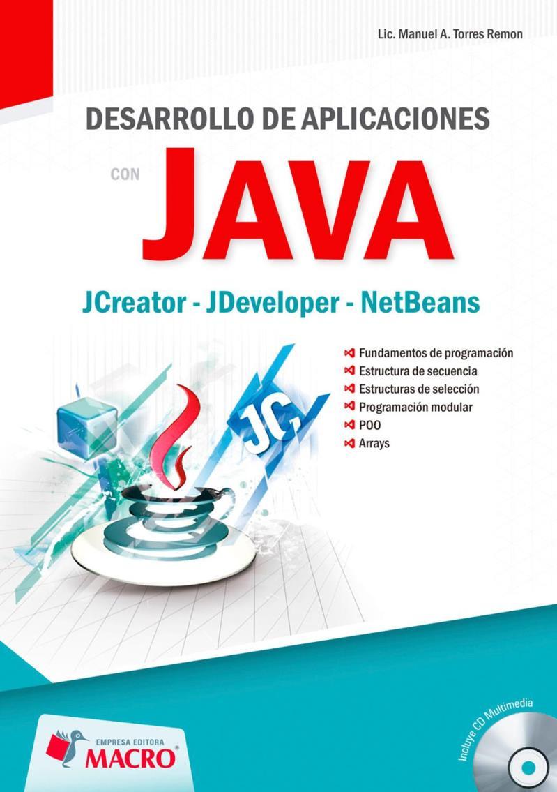 Desarrollo De Aplicaciones Con Java Manuel A Torres Remon