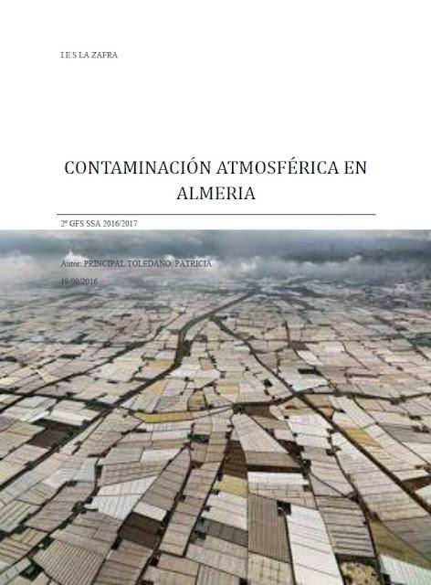 Contaminación atmosférica en Almería