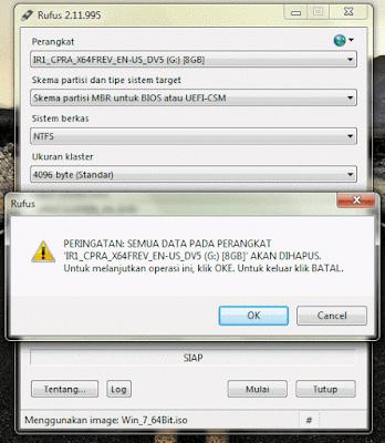Cara Membuat Flashdisk Menjadi Bootable Menggunakan Sofware Rufus