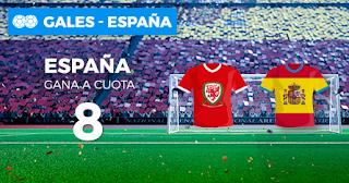 Paston Megacuota Gales vs España 11 octubre
