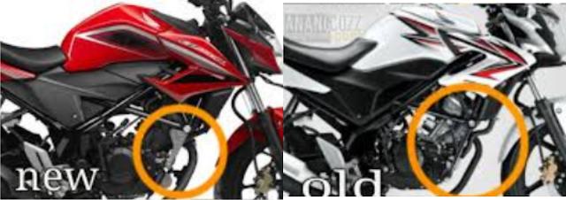 Ternyata rangka Honda CB150R tidak mudah patah, Karena terdapat aluminium pada sambungan penyangga rangka mesin
