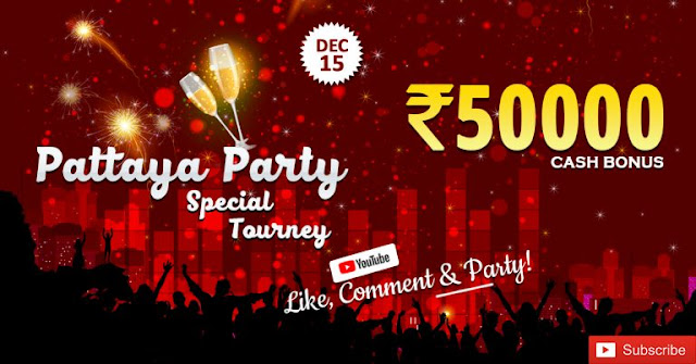 Pattaya Party special tourney