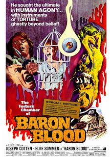 """""""Baron Blood"""" (1972), reż. Mario Bava. Recenzja filmu."""