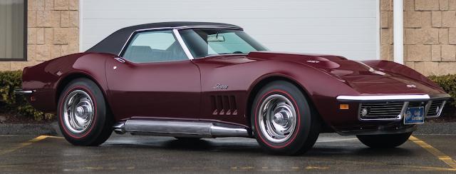 SuperCarWorld: 1969 Chevolet Corvette L88 at Mecum
