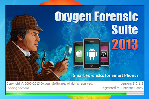 Oxygen forensic suite 2013