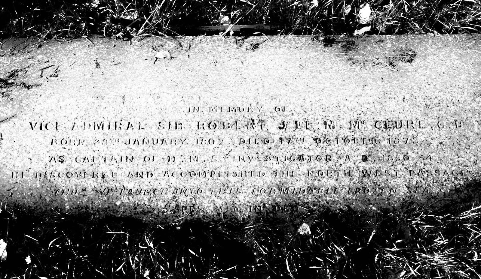 McClure's inscription.