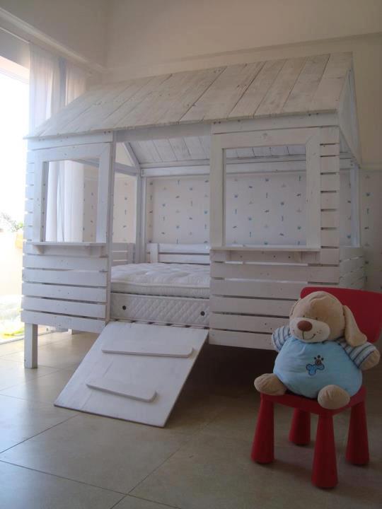 cama casita para vuestros ni os. Black Bedroom Furniture Sets. Home Design Ideas