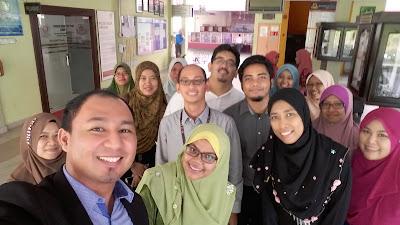 Kenangan bersama rakan guru Sains di MRSM Gemencheh
