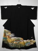 黒留袖の写真です