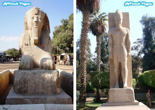 Estátuas de Ramsés