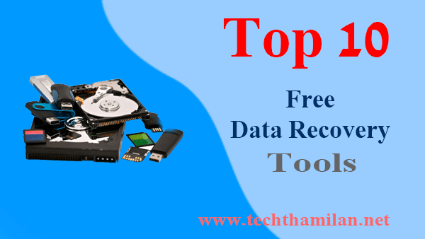 free data recovery tool top 10