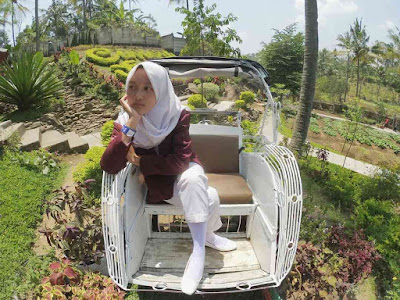 Spot Becak Cimory Semarang