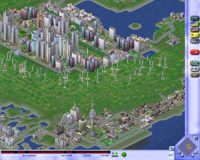 Videojuego Sim City 3000