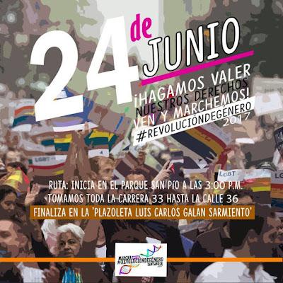 bucara santander marcha gay orgullo lgbt 2017 lesbianas sexo travesti colombia floridablanca