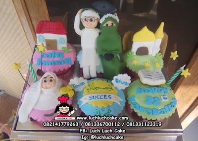 Cupcake Tema Islam Muslim & Muslimah