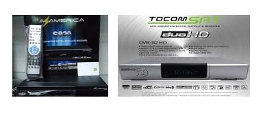 Resultado de imagem para AZAMERICA S-920 EM TOCOMSAT DUO HD+