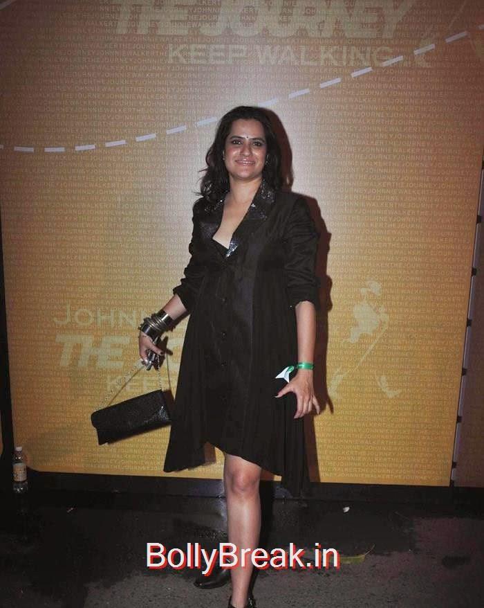 Aditya Roy Kapoor at 'Johnnie Walker - The Journey' Event, Mandira Bedi At  'Johnnie Walker - The Journey