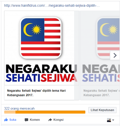 Hanif Idrus FB Pages