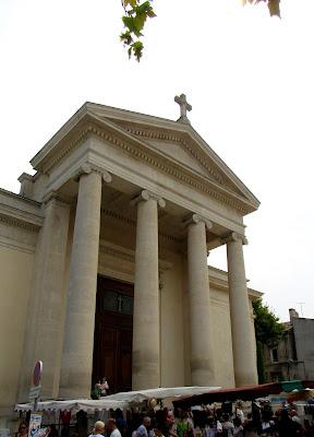 Iglesia de S. Martin en Saint-Rémy de Provence. La Camarga