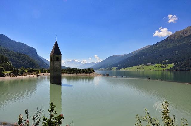 campanile lago resia alto adige