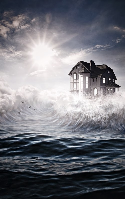 10-The-House-on-the-Coast-Artist Jeannette-Woitzik-Surreal-Digital-www-designstack-co