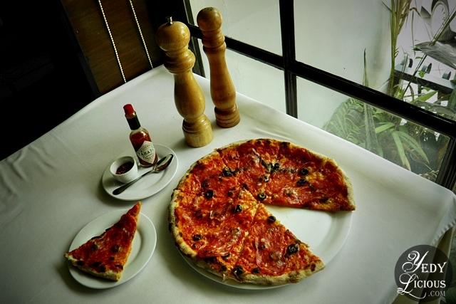 Calabrese Pizza Caruso Ristorante