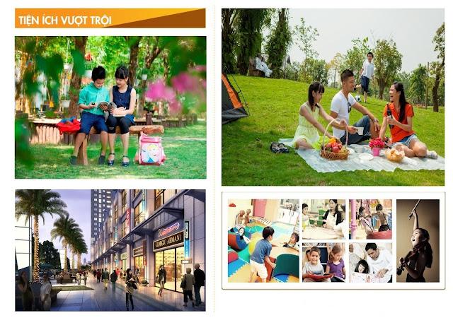 Tiện ích của dự án căn hộ chung cư Eco Dream City.