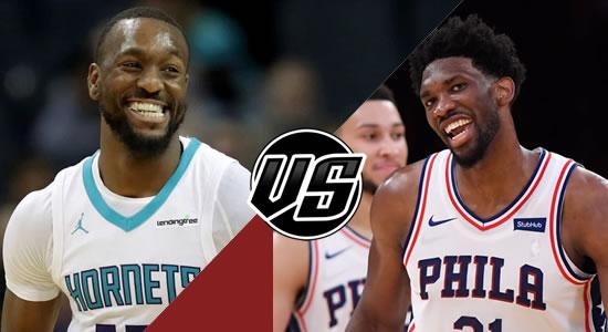 Live Streaming List: Charlotte Hornets vs Philadelphia 76ers 2018-2019 NBA Season