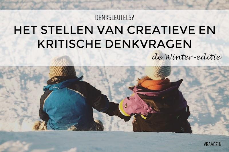 85+ vragen om kinderen creatief en kritisch te laten denken over de winter, sneeuw en sneeuwpoppen