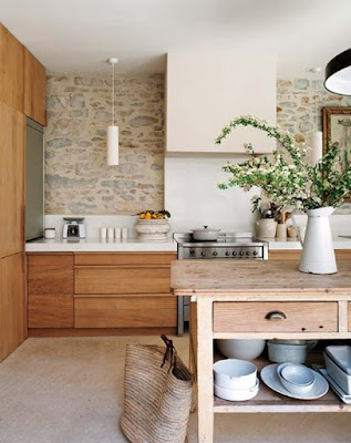 Trend Interior Dapur Yang Natural