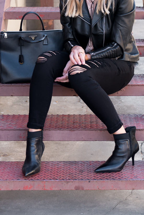 perfect fall black bootes