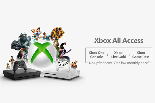 Microsoft announces Xbox All Access subscription plan with No upfront cost and One low monthly price for 24 months