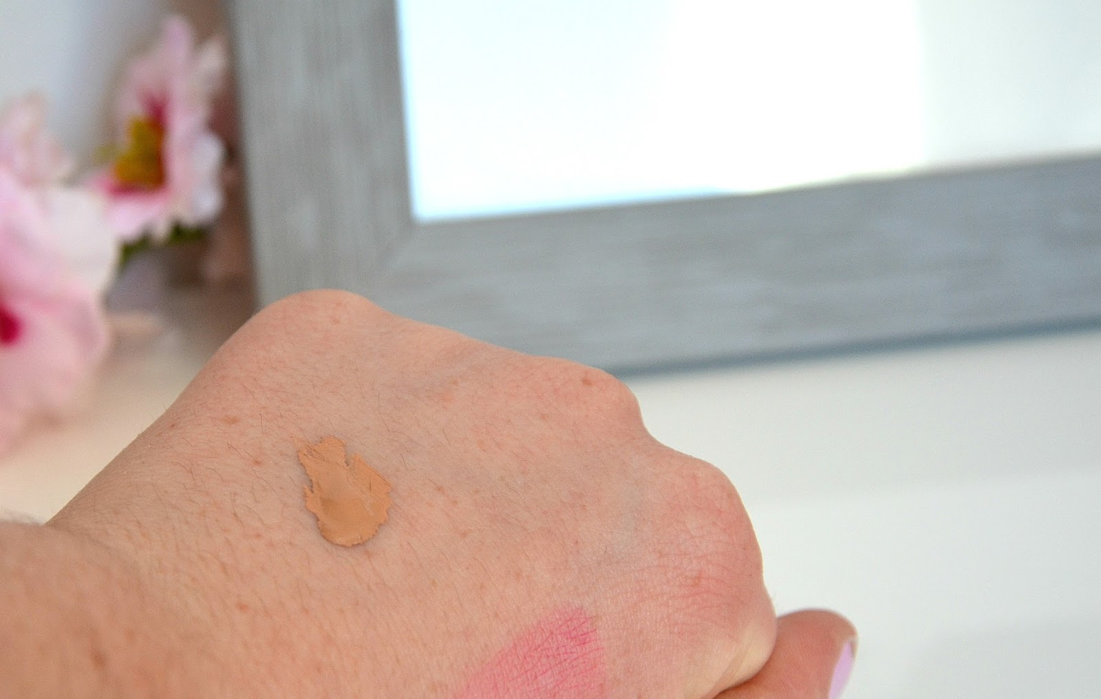 BB crème normaderm vichy swatch