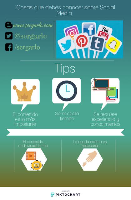 Infografía, Infographic, social media, consejos