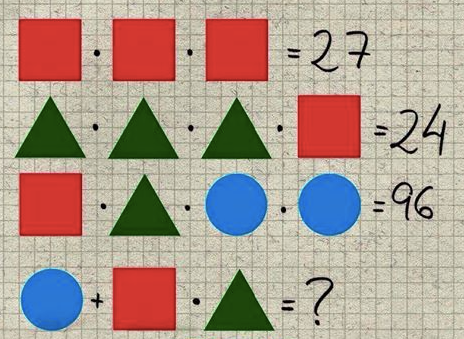 Shapes Math Picture Puzzle for Kids