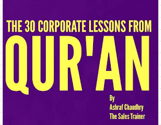 THE 30 CORPORATE LESSONS FROM QURAN