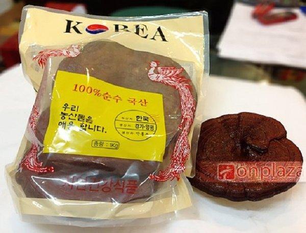 Công dụng của nấm linh chi đỏ Hàn Quốc