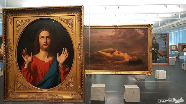 Obras em exposição no MASP