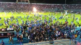 Arema vs Persib Ricuh, Ratusan Orang Menjadi Korban, Pertandingan Sudah Selesai, Keputusan Komdis PSSI Dinanti.