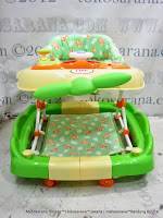 Care 2 in One Walker Rocker Pesawat