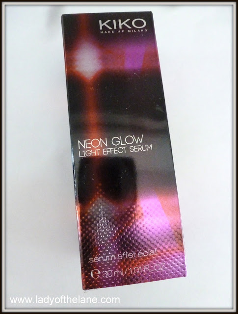 Kiko Neon Glow Light Effect Serum