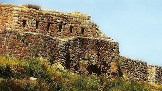 Ruínas Incas de Pucapucara, em Cusco