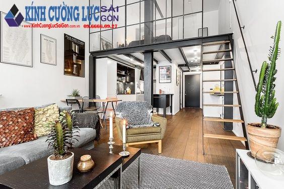 Cách thiết kế nội thất kính cho không gian hẹp
