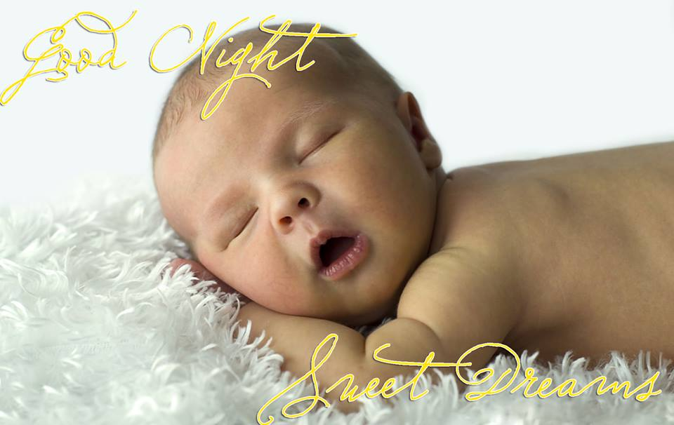 Good Night Sweet Dreams Baby Image for Whatsapp & facebook