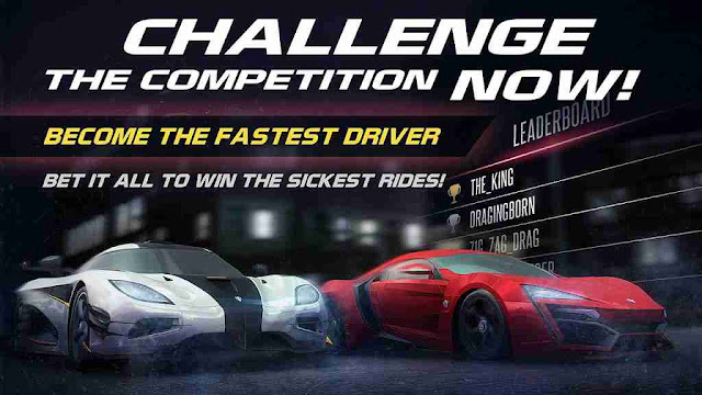 Racing Rivals Mod Apk Unlimited Money And Gems