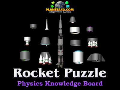 Rocket Parts Puzzle