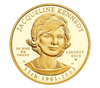 US Gold Coins Jacqueline Kennedy 10 Dollars First Spouse Gold Coin