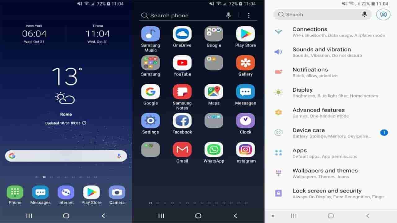 How to download and install Android 9 0 Pie Theme on Samsung