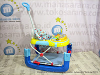 Baby Walker Care CW301 2 in 1 Rocking Aquarium Melody